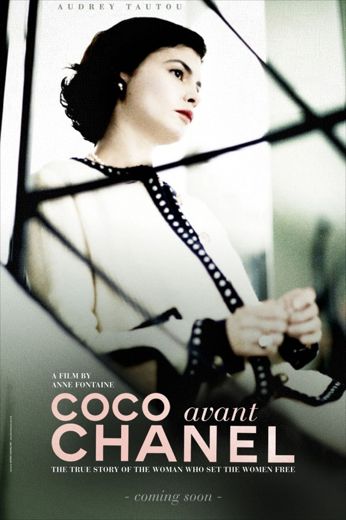 Coco Avant Chanel - Movie Poster by Purple Red
