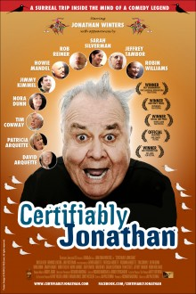 Certifiably Jonathan – Key art for theatrical release