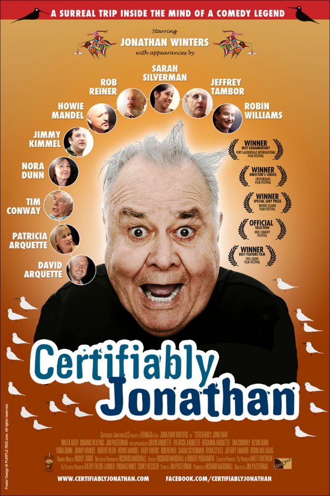 Certifiably Jonathan – theatrical poster US