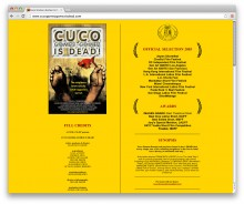Cuco Gomez-Gomez is dead! – movie Website design