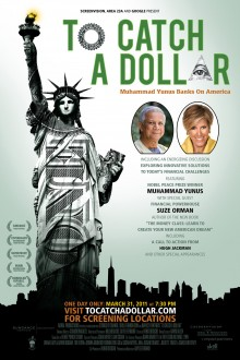 To Catch a Dollar – Key art for US premiere