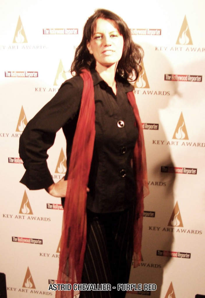 Astrid Chevallier, Purple Red's Creative Director at the 39th Hollywood Reporter Key Art Awards