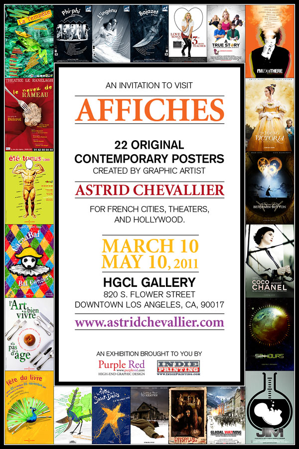 """AFFICHES"" March 10 - May 10, 2011"