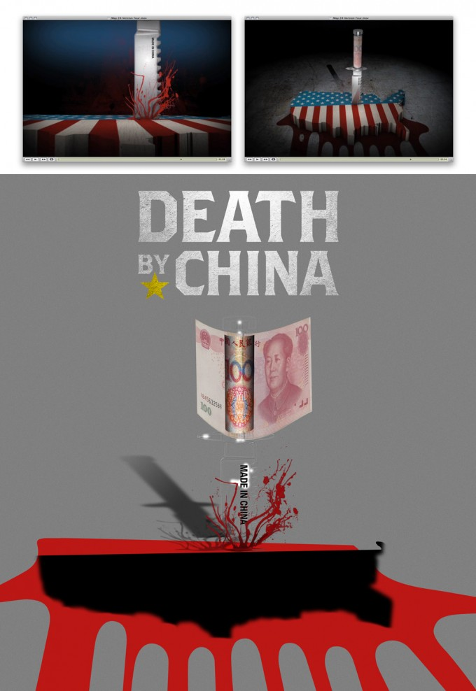 AstridChevallier_DeathByChina_PosterMakingOf