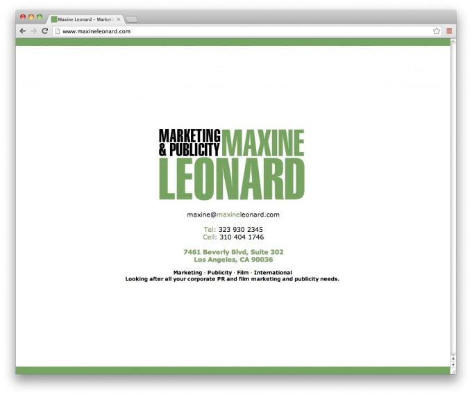 Maxine Leonard